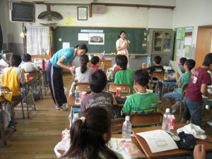 志茂田小学校 歯みがき教室