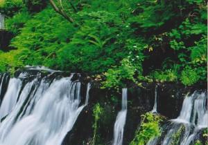 軽井沢の白糸の滝 (2)